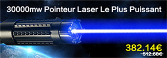 Pointeur 30000mw Laser Lampe LED