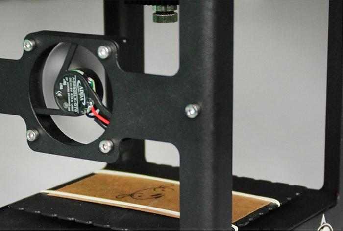 1000 mW laser machine gravure