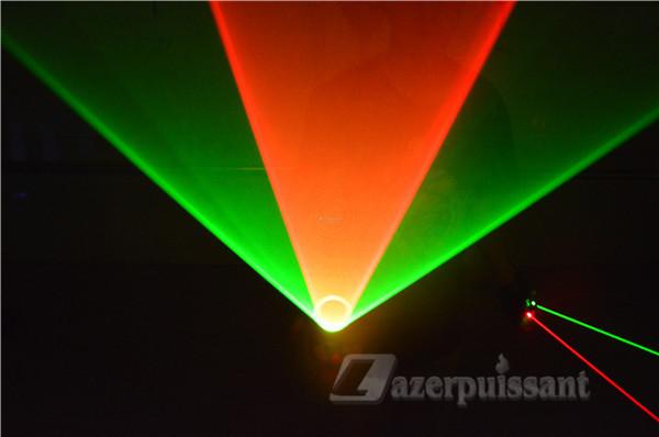 mouvement vert laser gants