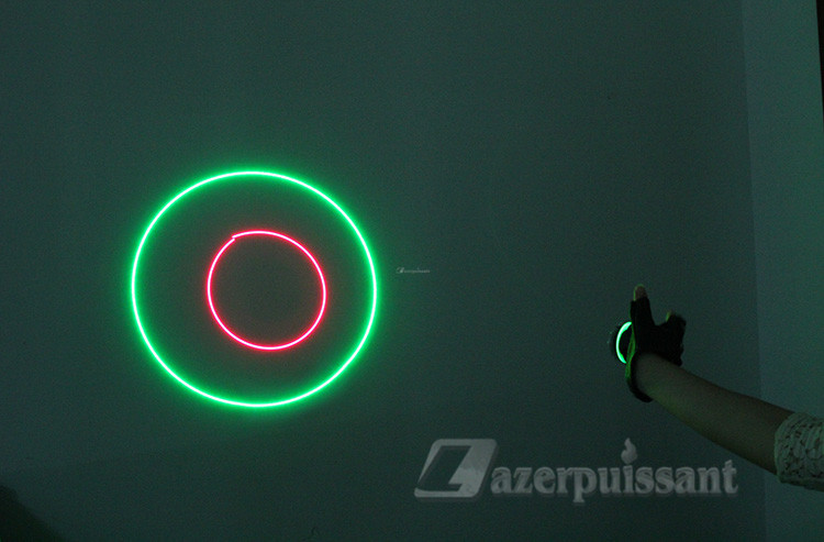 rotation lasers gants