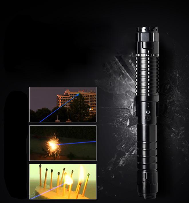 longues distances pointeur laser bleu 30000mW