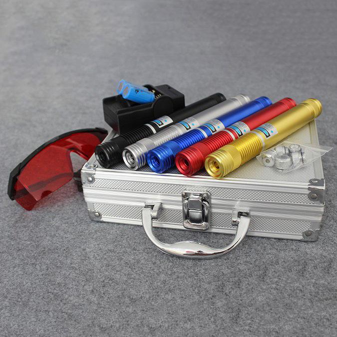 bleu torche laser