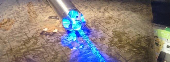 mini pointeur laser bleu 4000mw
