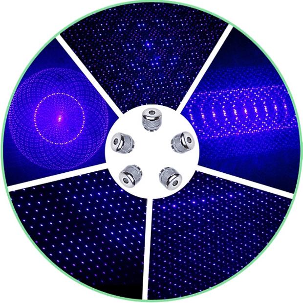Laser Bleu 5000mW Surpuissant