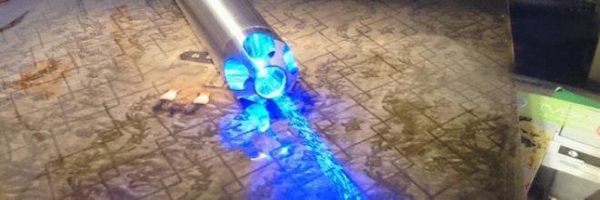 5000mw laser pointeur bleu