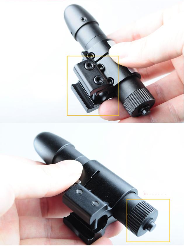 laser vert pour carabine
