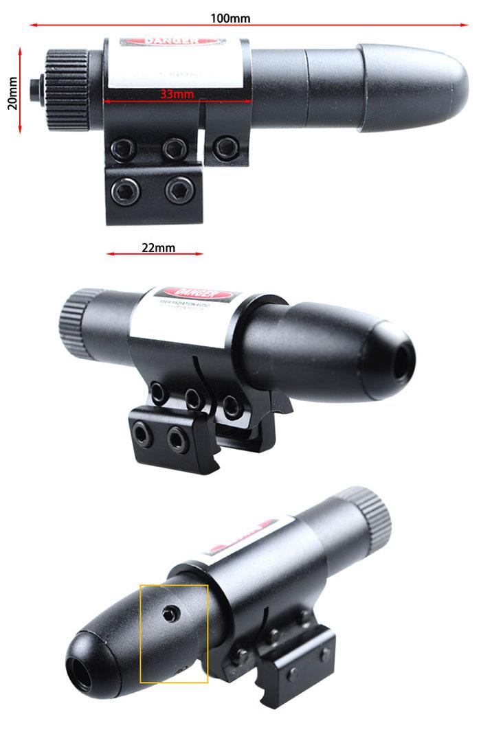 Viseur Laser de Tir Pour Pislolet