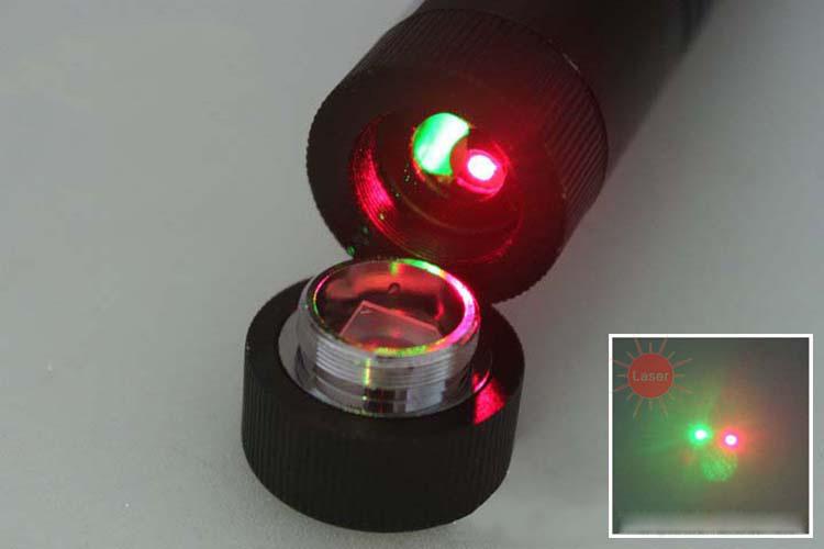 laser vert 1000mw et rouge 500mw