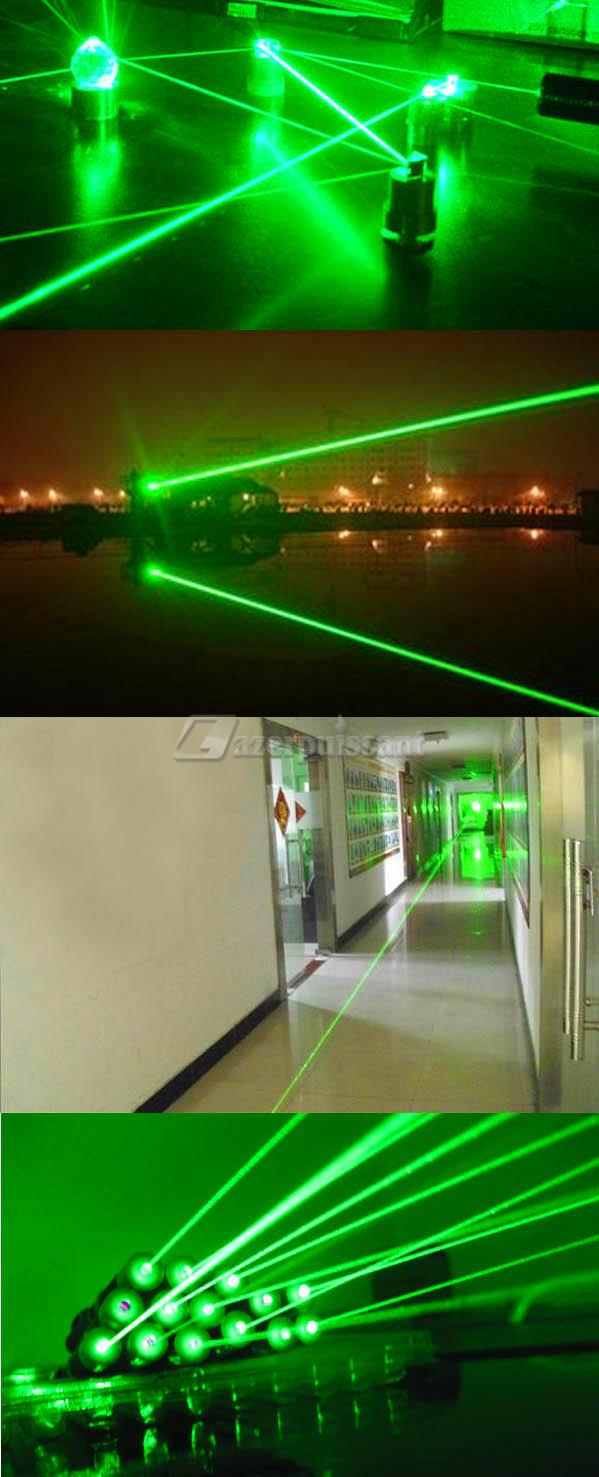 pointeur laser vert 200MW puissant