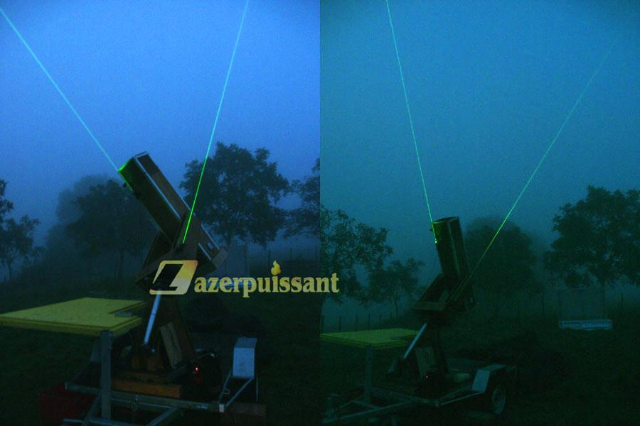 Pointeur Laser Astronomie 3000mw Brillant Clés de Sécurité