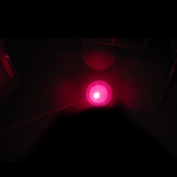 100mw laser rouge et chien