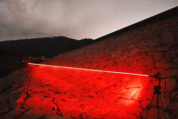 laser 1000mw couleur rouge