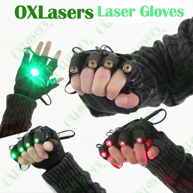gants laser vert pas cher