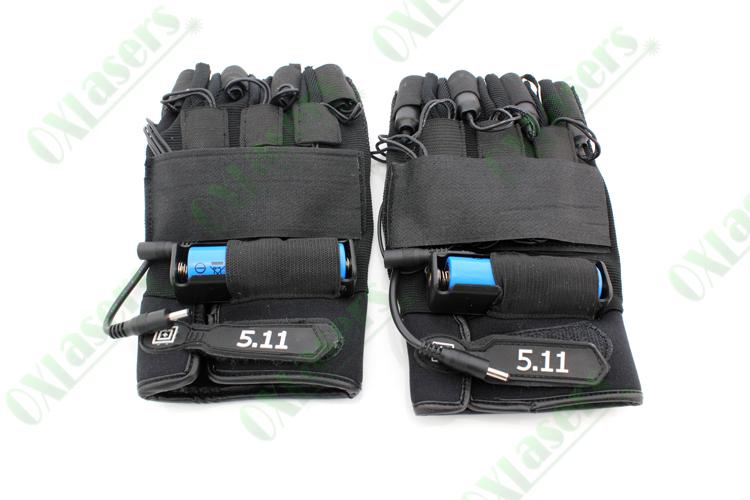 vendre gants laser vert