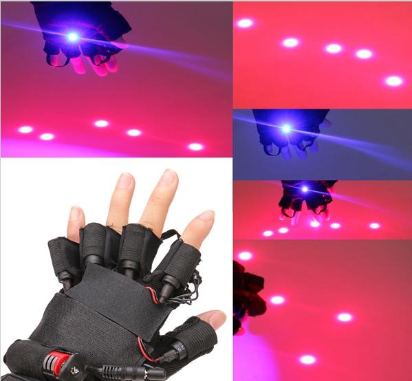 laser bleu  200 MW gants