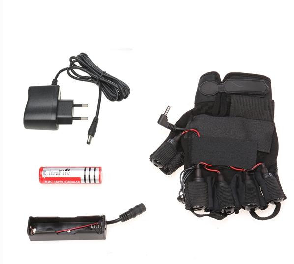 gants avec laser
