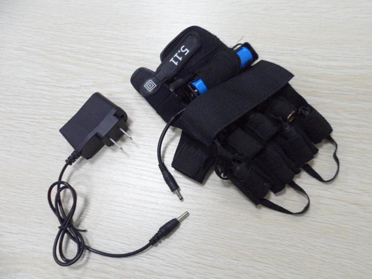 Bleu violet 405nm laser se réfère à la 4 gants de laser