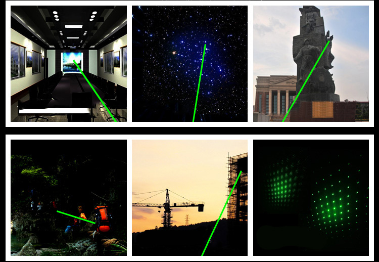 lampe de poche laser vert