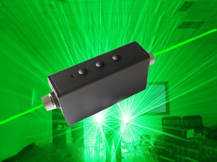 Double sabre laser vert pas cher pour show ou DJ gadget laser