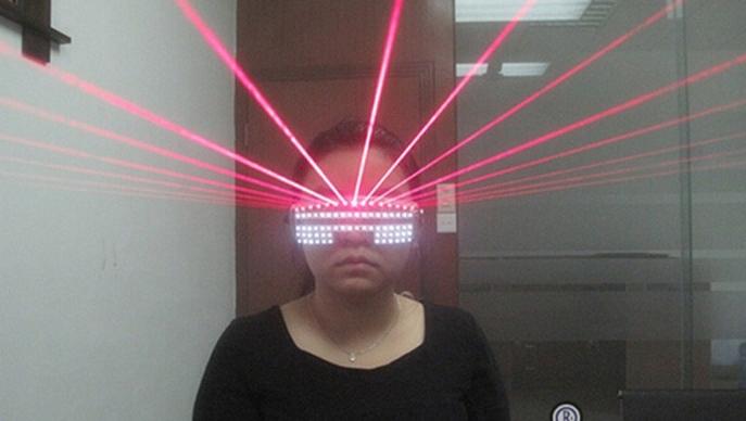 laser rouge LED lunettes DJ club