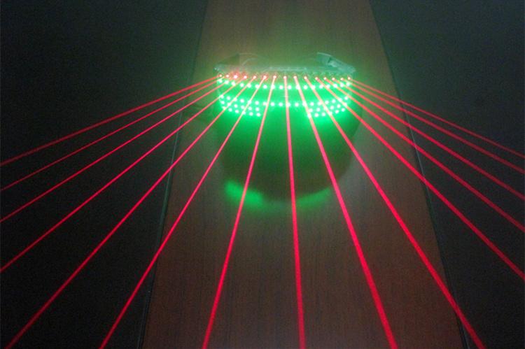HTPOW Lunettes Laser Rouge LED