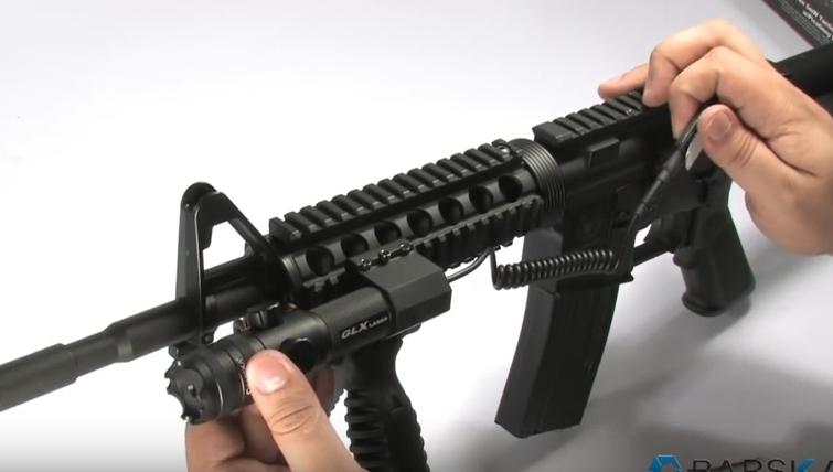 visée laser pistolet