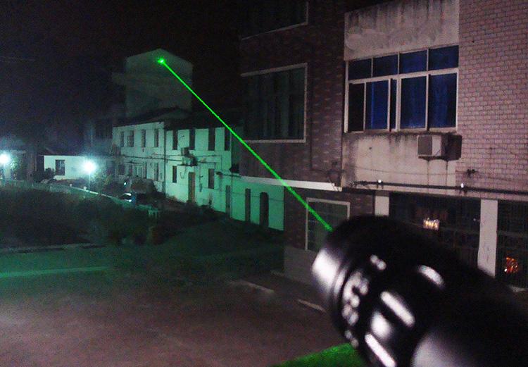 Tactique laser vert