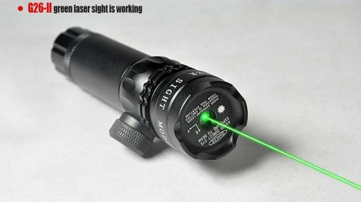Carabine tir laser