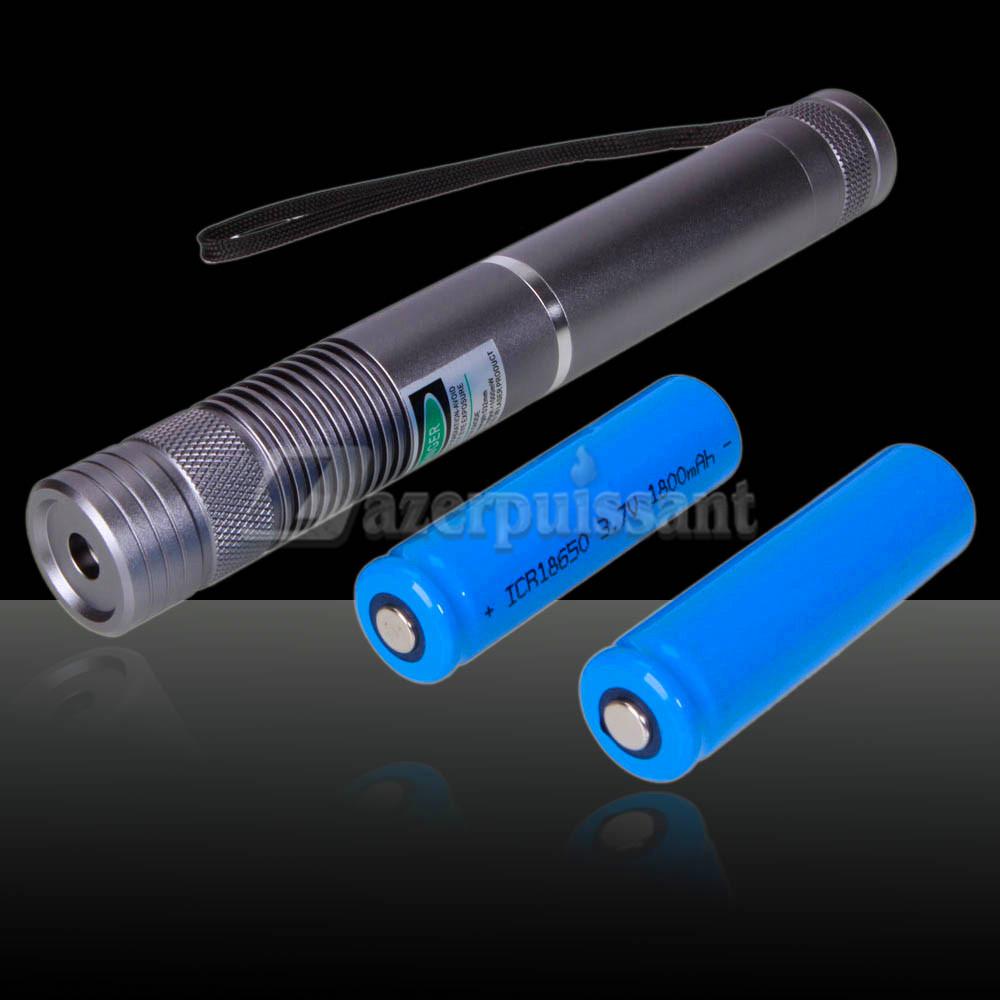 2000MW laser bleu lampe de poche briquet