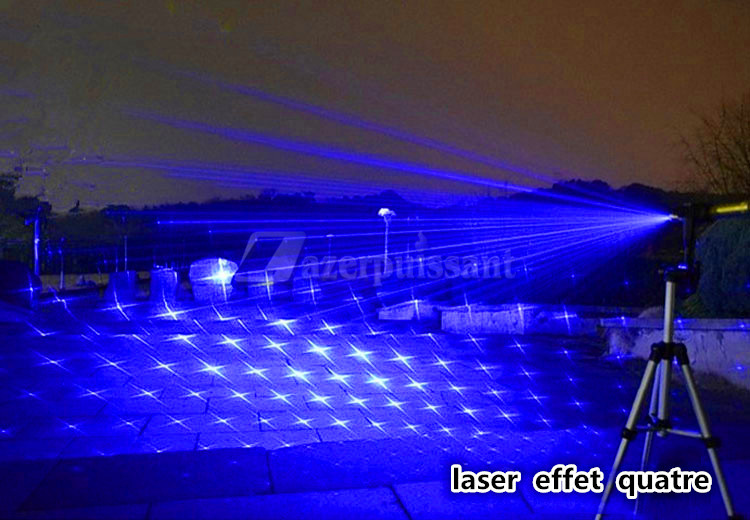 Laser Bleu Surpuissant