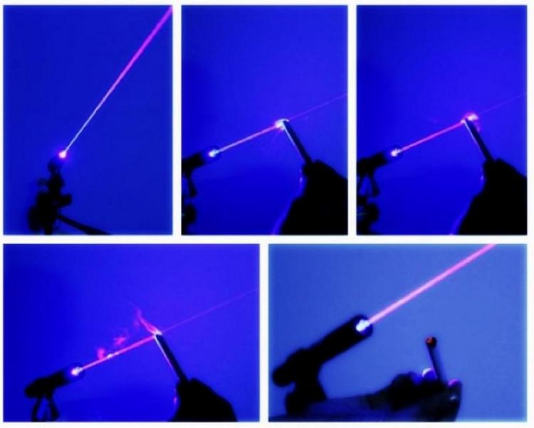 laser bleu 2000mw Allumer ciga