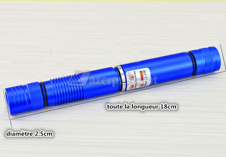Pointuer Laser Vert 10000mW Laser Ultra Puissant