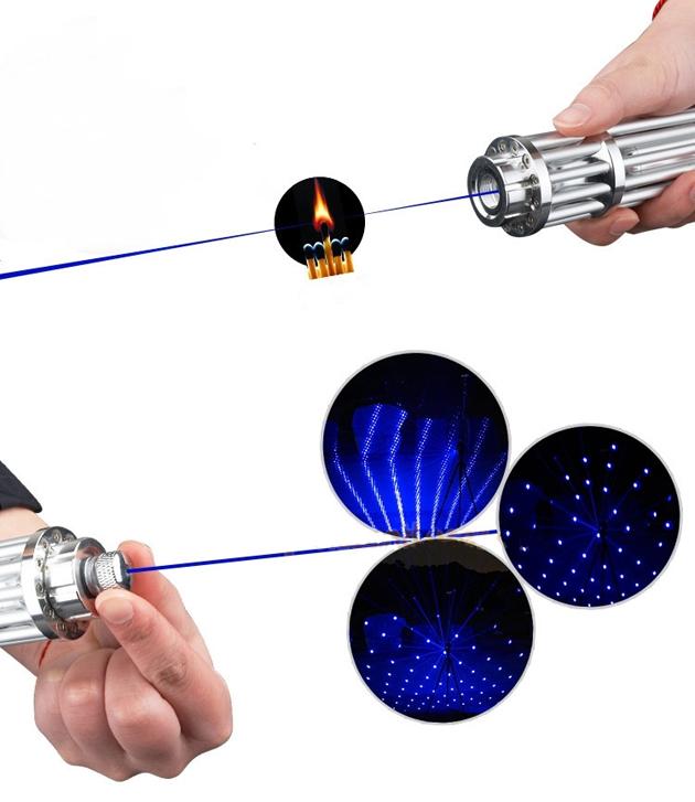 laser pointeur avec tete motif