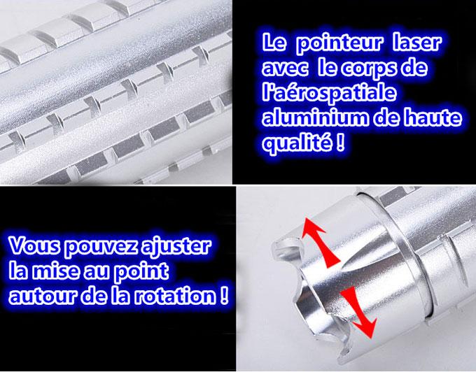 Haut de gamme laser pointeur 10000mw puissant classe 4