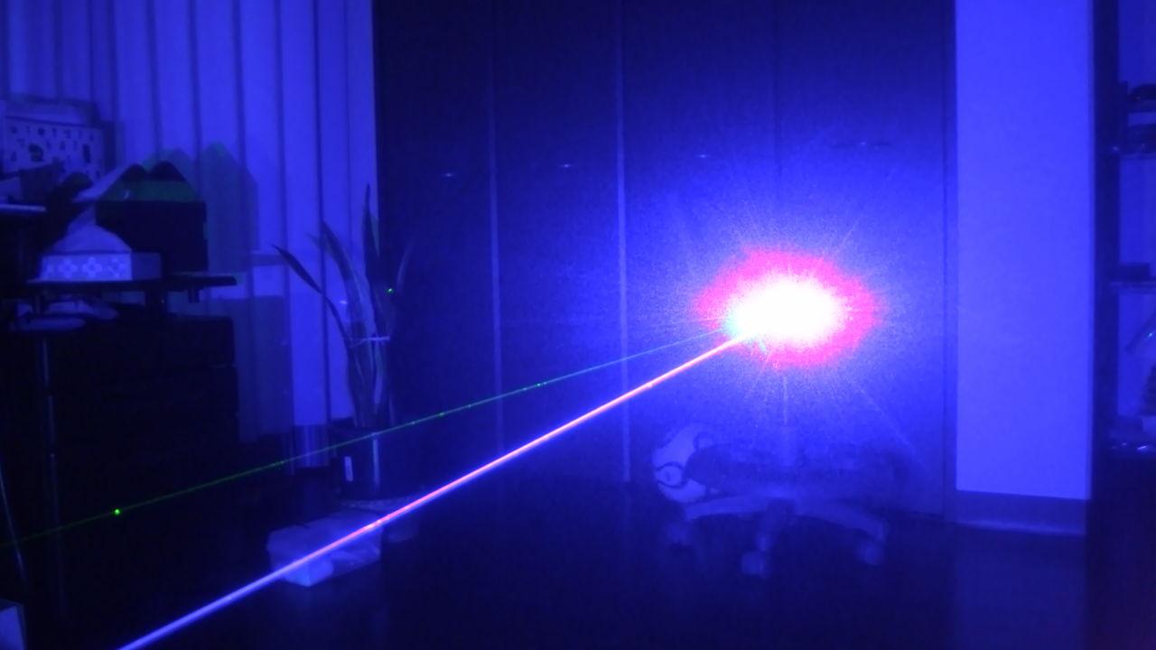 site de laser bleu 10w