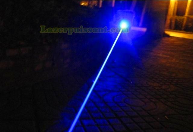 puissance laser bleu pointeur 2000MW
