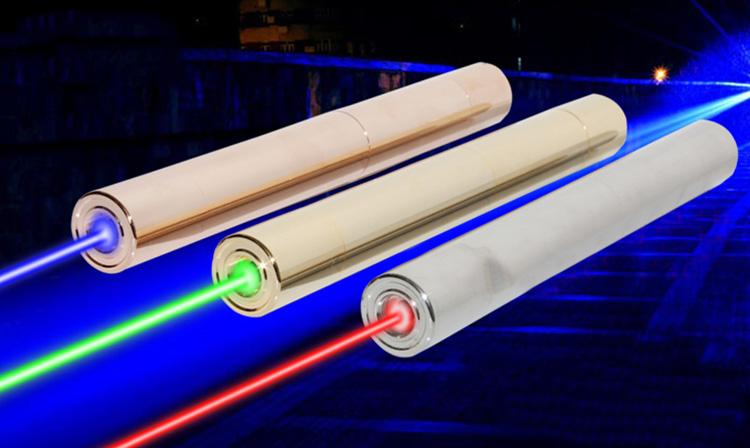 stylo laser vertpuissant