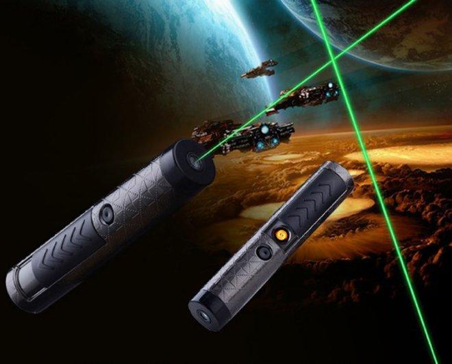 USB Rechargeable Allume-cigare laser Portable Portable