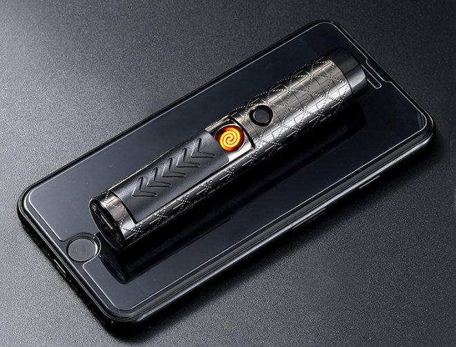USB Rechargeable Allume-cigare laser