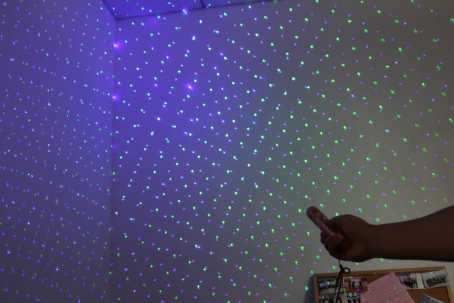 2en1 pointeur laser
