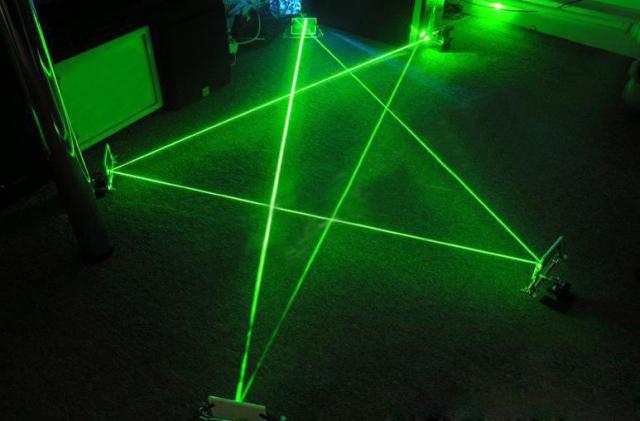 laser vert 5000mw