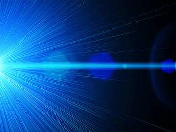 Le mot laser est un acronyme d'amplification de la lumière par émission stimulée de rayonnement.