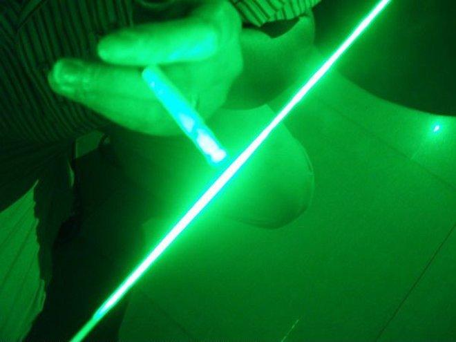 pointeur laser verde
