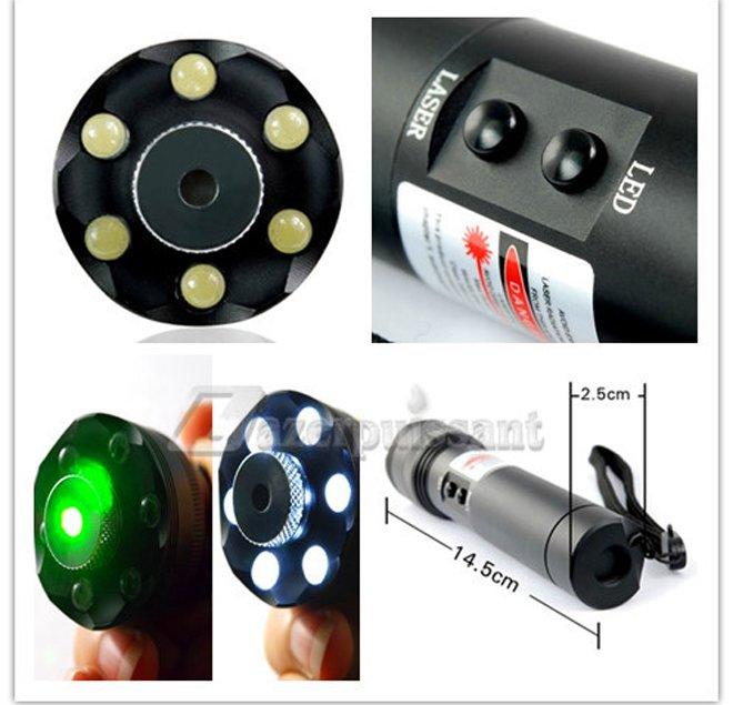 lampe de poche laser