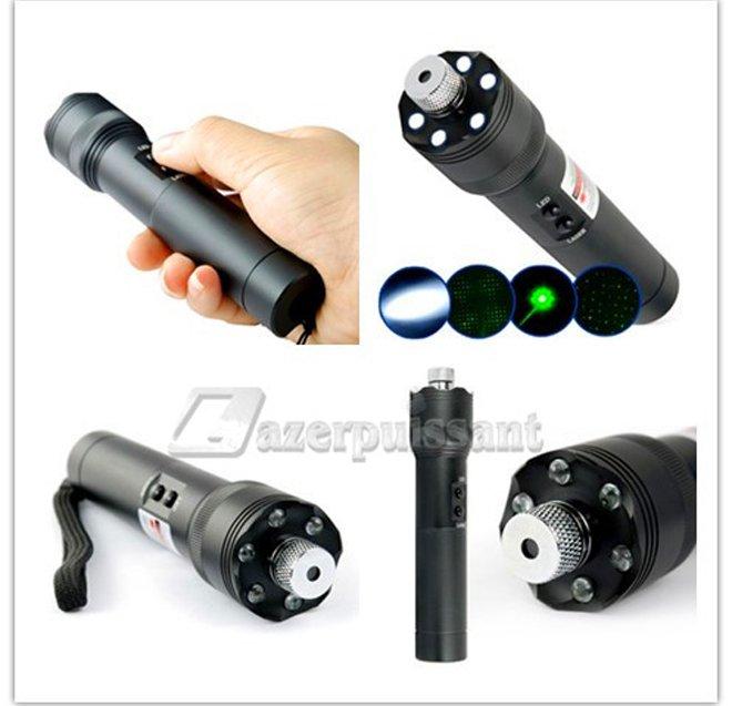 Laser lampe torche vert 200mW