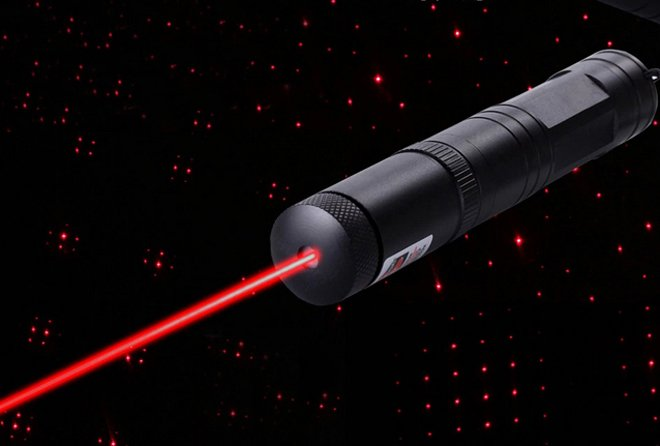 lampe laser rouge 200mw