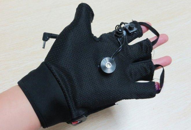 gant laser puissant