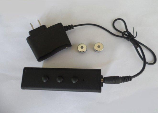 Handheld green laser vert