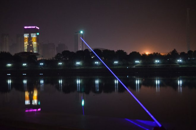 10W laser bleu