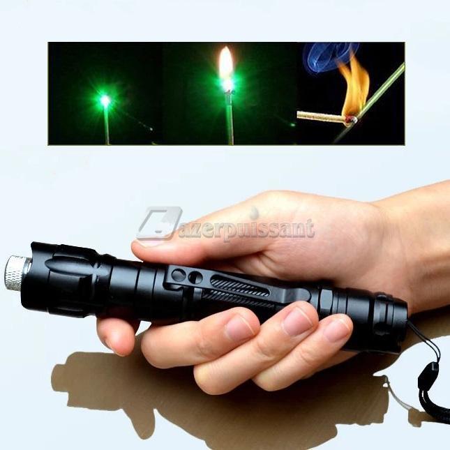 Promotion! HTPOW Pointeur Laser Vert 1000 mW Étoilée Laser Lampe de Poche